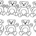 Medvědi-omalovánky